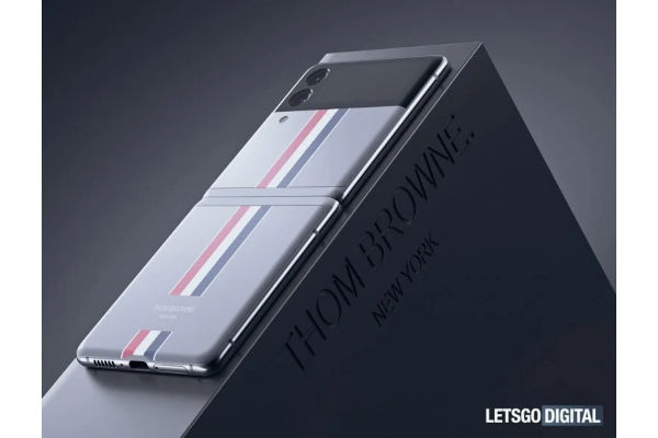 Samsung Galaxy Z Flip3 Thom Browne edition render surfaced 1
