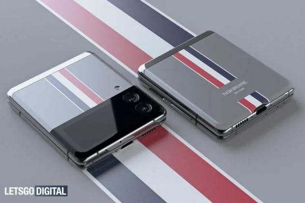 Samsung Galaxy Z Flip3 Thom Browne edition render surfaced 3