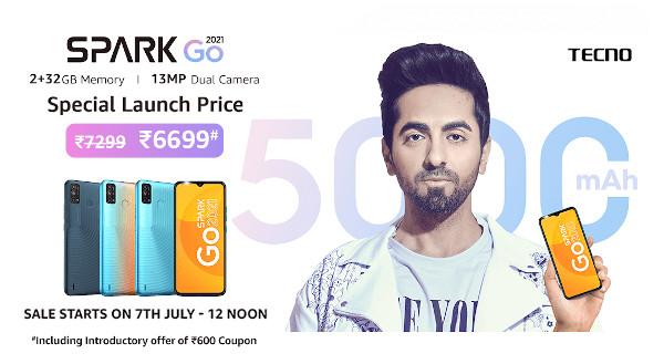 Tecno Spark Go 2021 price