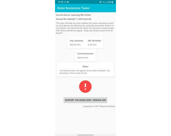 This Android App Tells Whether Your Phone Is Water Resistant or Not 1