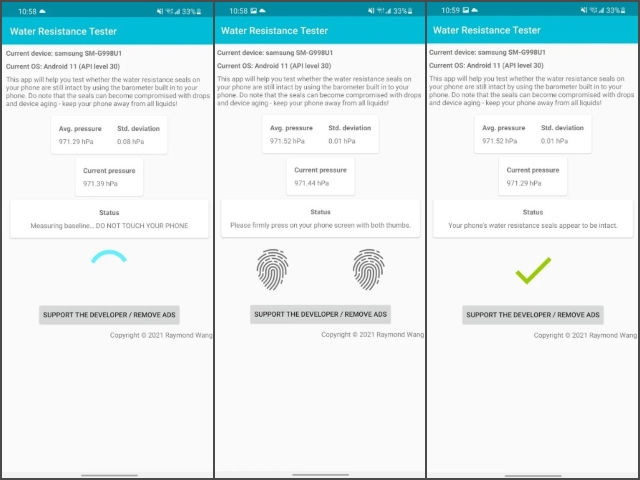 This Android App Tells Whether Your Phone Is Water Resistant or Not