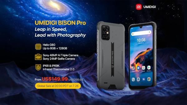 UMIDIGI BISON Pro on Aliexpress