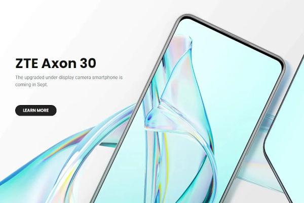 ZTE Axon 30 5G launched 1