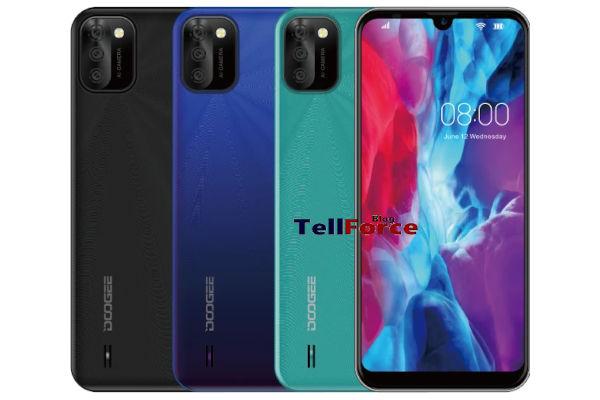 DOOGEE X93 in colors 1