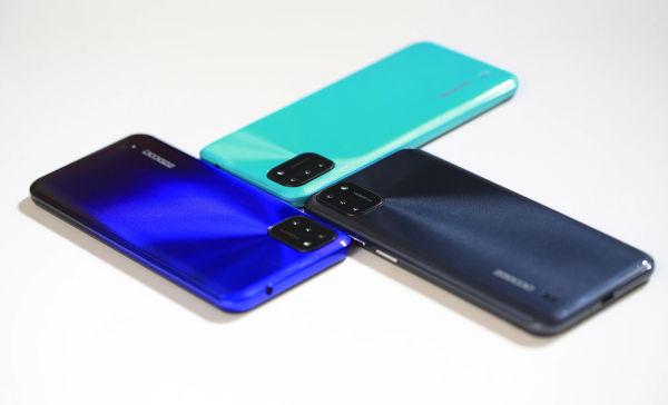 DOOGEE X93 in colors