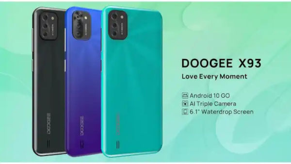 DOOGEE X93 launched