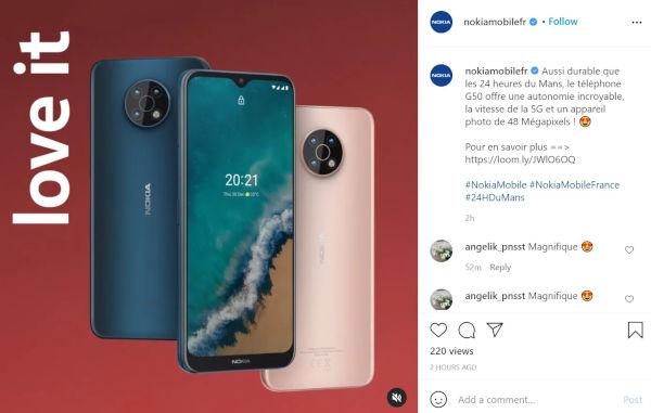 Details of upcoming Nokia G50 5G revealed