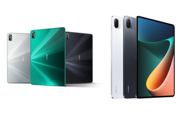 Honor Tab V7 Pro vs Xiaomi Mi Pad 5 Pro