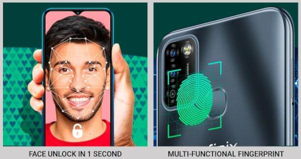 Infinix Smart 5A authentication methods 1