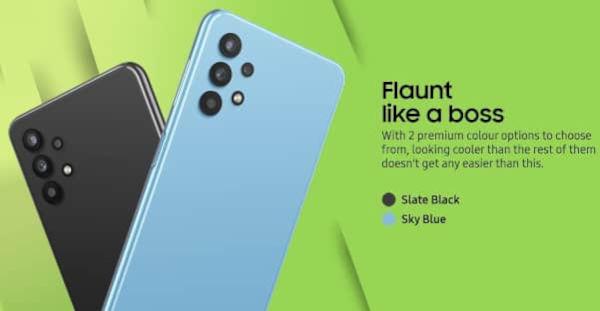 Samsung Galaxy M32 5G colors