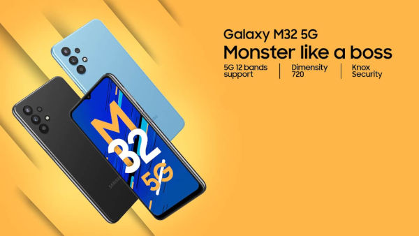 Samsung Galaxy M32 5G launched