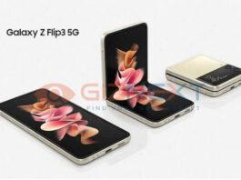 Samsung Galaxy Z Flip3 render