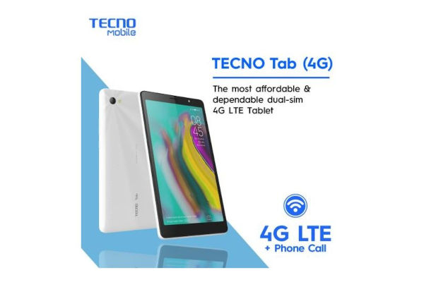 Tecno Tab 4G LTE P704A launched