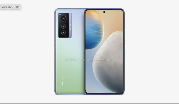 Vivo X70 renders