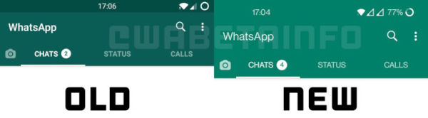 WhatsApp Beta For Android Gets New Colors