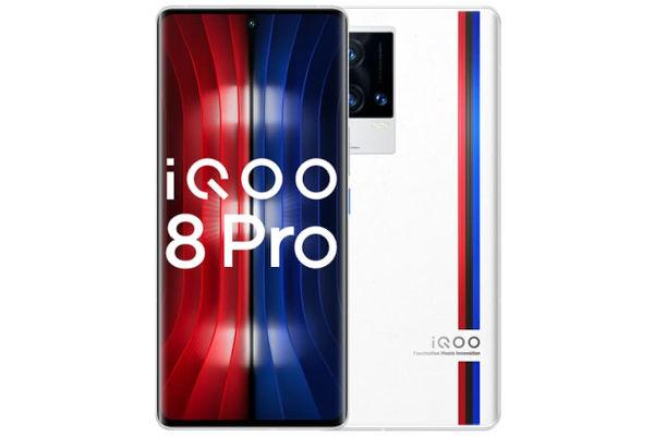iQOO 8 Pro in white