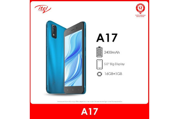 itel A17 launched