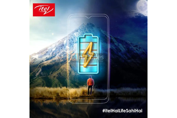 itel teases a smartphone with big battery