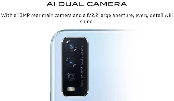 vivo Y12G rear cameras