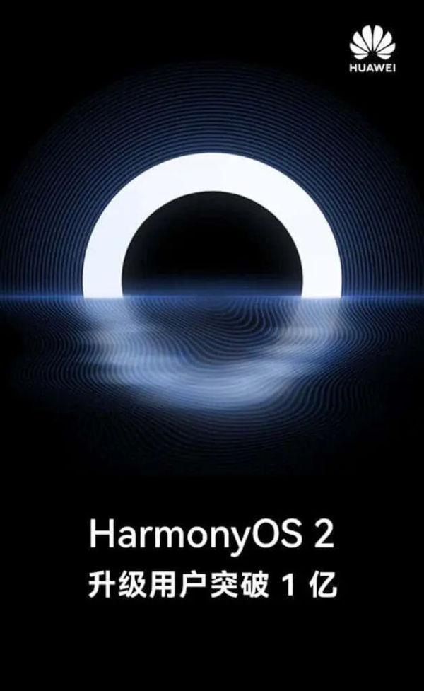 HarmonyOS 2 Exceeds 100 Million Users
