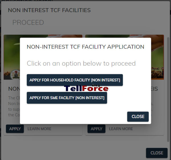 How To Apply For CBN NIRSAL Non Interest Facilities Loan 2