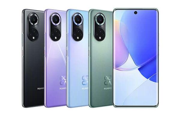 Huawei nova 9 in colors