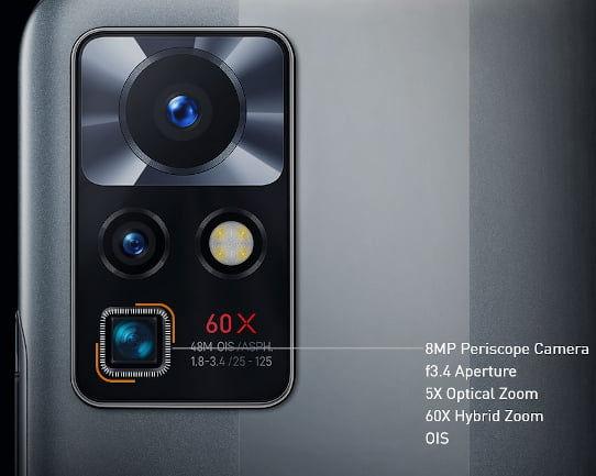 Infinix Zero X Neo cameras