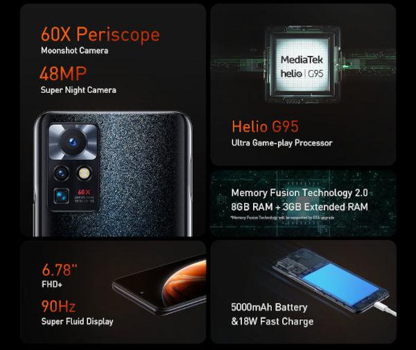 Infinix Zero X Neo specs and features