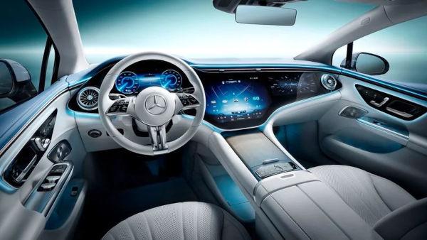 Mercedes Benz unveils the 2022 EQE electric sedan 3