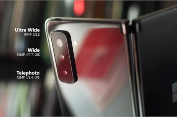 Microsoft Surface Duo 2 cameras