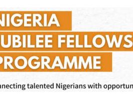 Nigeria Jubilee fellow programme