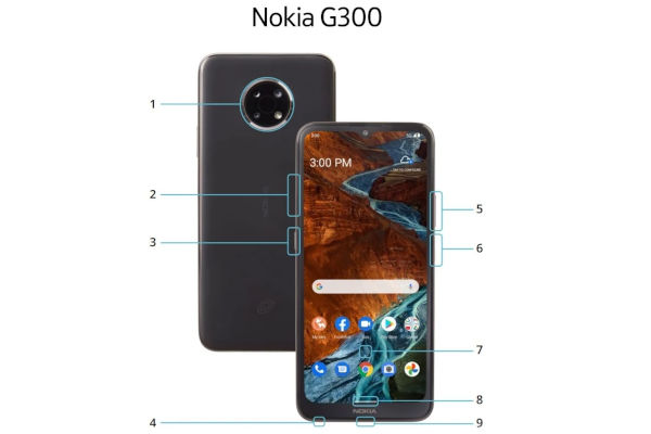 Nokia G300 5G official images surface online specs revealed