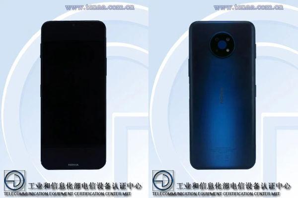 Nokia G50 5G certified by TENAA