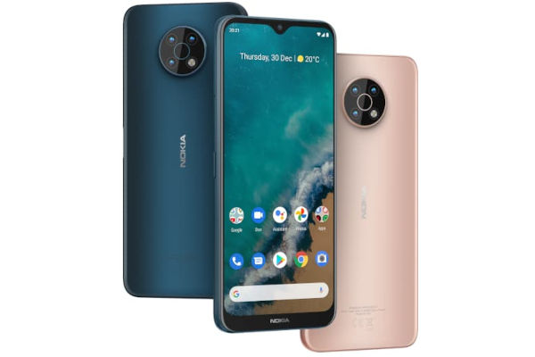 Nokia G50 in colors