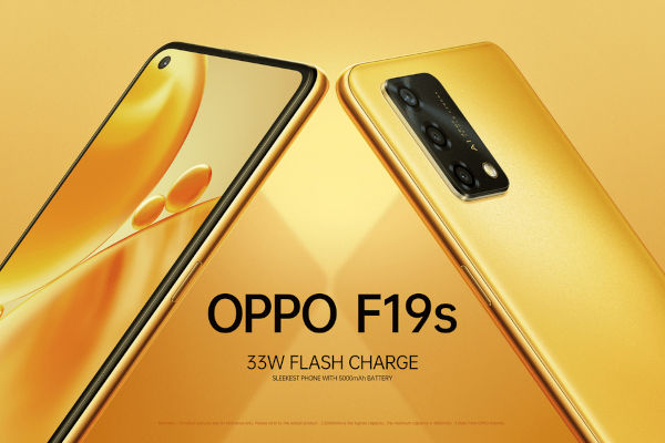 OPPO F19s launched 1