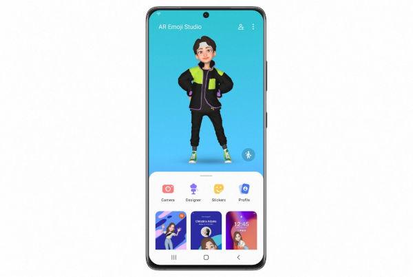 One UI 4 AR Emoji Studio