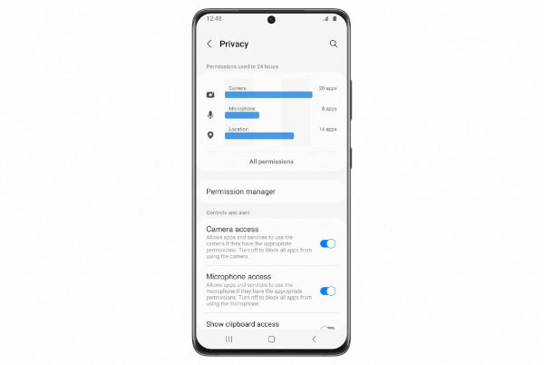 One UI 4 privacy options 2