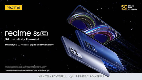 Realme 8s 5G launched