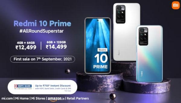 Redmi 10 Prime in price