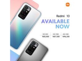 Redmi 10 price in nigeria