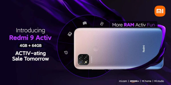 Redmi 9 Activ launched