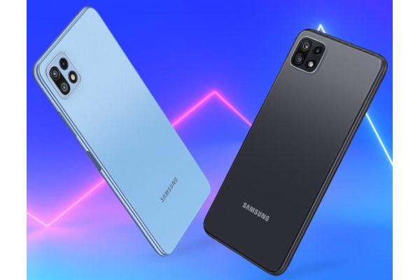 Samsung Galaxy F42 5G in colors