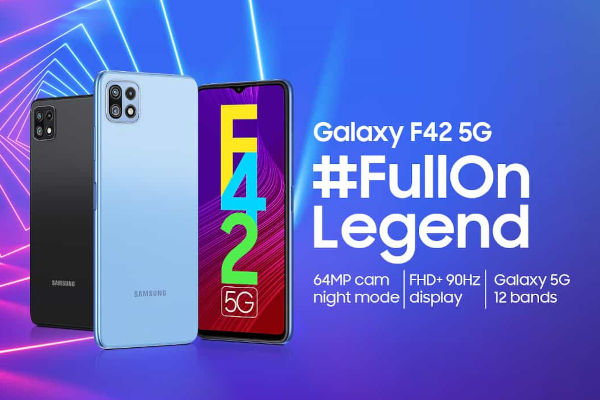 Samsung Galaxy F42 5G launched