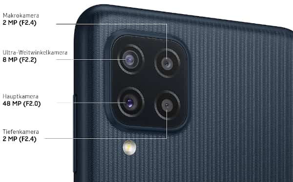 Samsung Galaxy M22 camera details