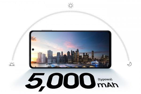Samsung Galaxy M52 5G battery