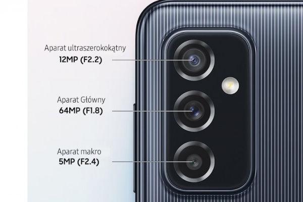Samsung Galaxy M52 5G cameras