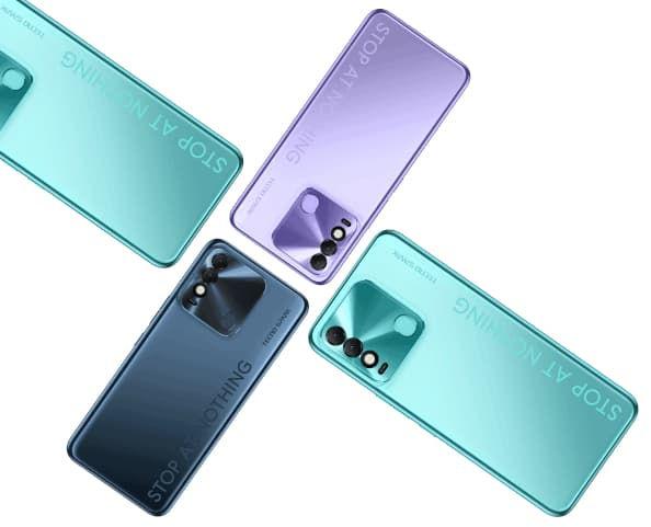 Tecno Spark 8 in colors