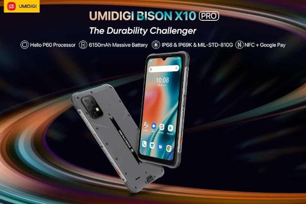 UMIDIGI BISON X10 Pro launched