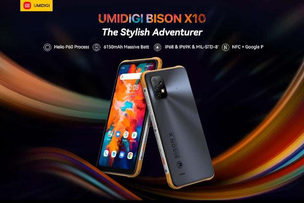 UMIDIGI BISON X10 launched