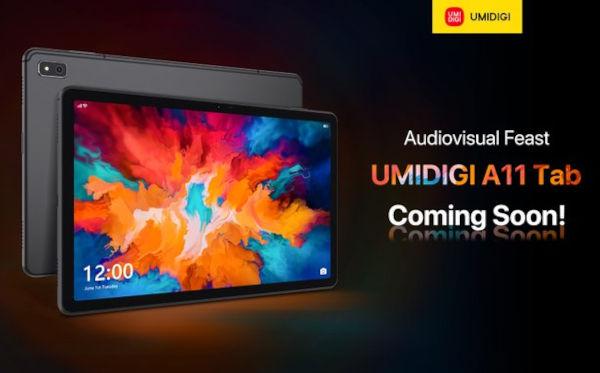 Umidigi A11 Tab coming soon